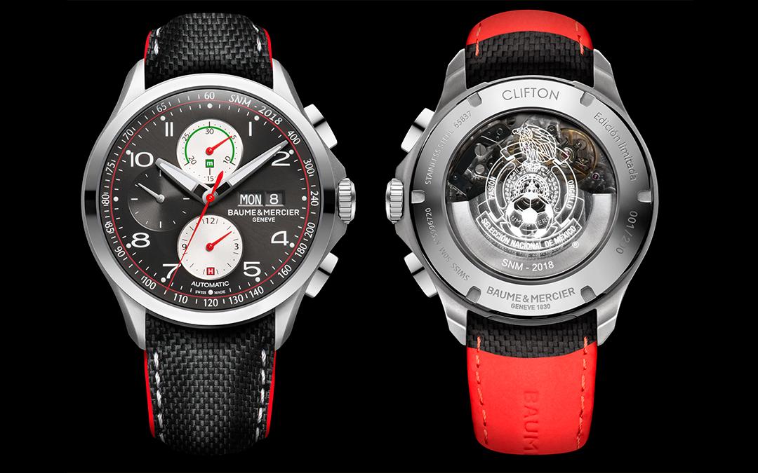 Baume & Mercier Clifton Club, el reloj oficial de la selección mexicana