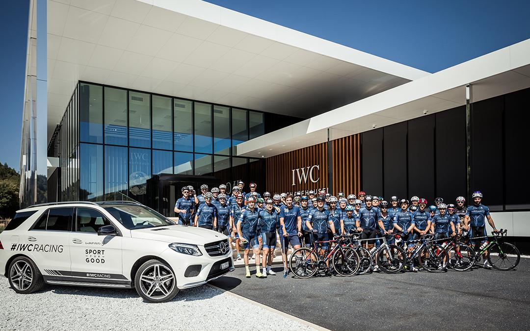 IWC y el desafío de ciclismo Tortour