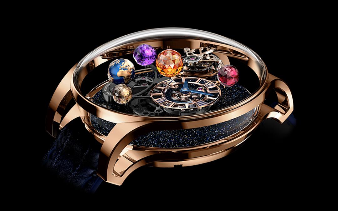 Cinco relojes de inspiración astronómica