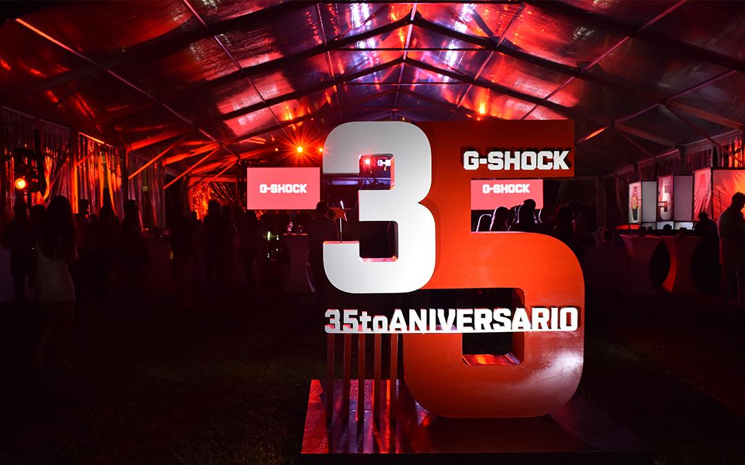 G-SHOCK celebra su 35 aniversario en Cancún