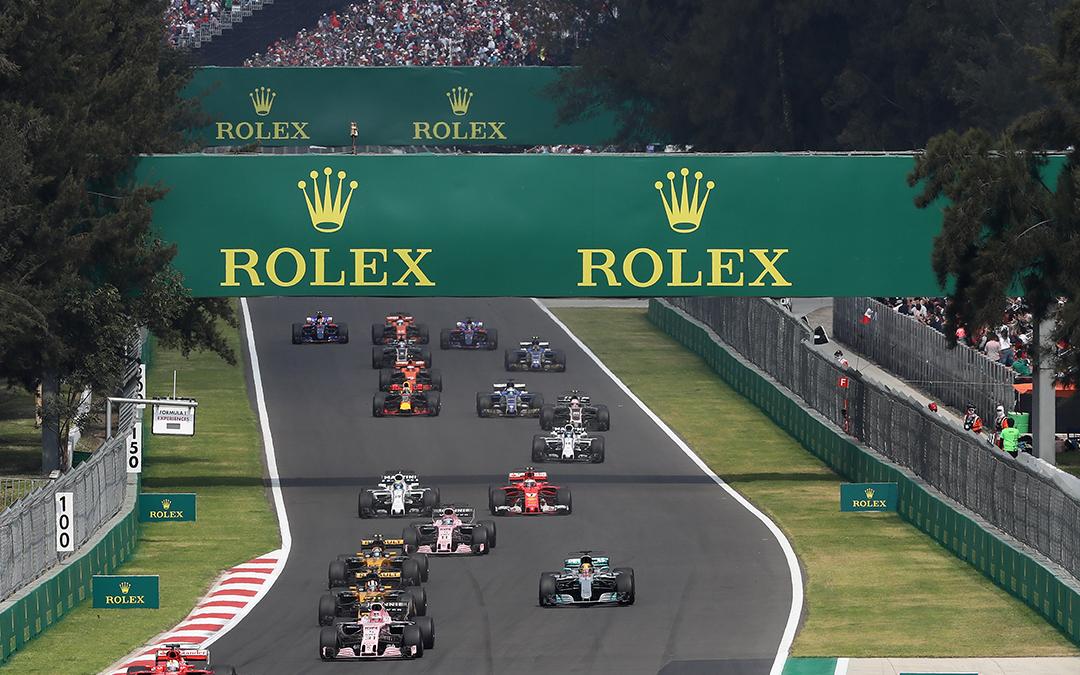 Rolex patrocinó una edición más del Fórmula 1 Gran Premio de México 2018