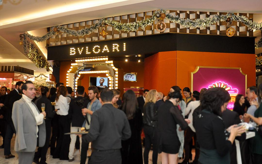 Bvlgari inaugura su Pop (Up) Corn Store en El Palacio de Hierro