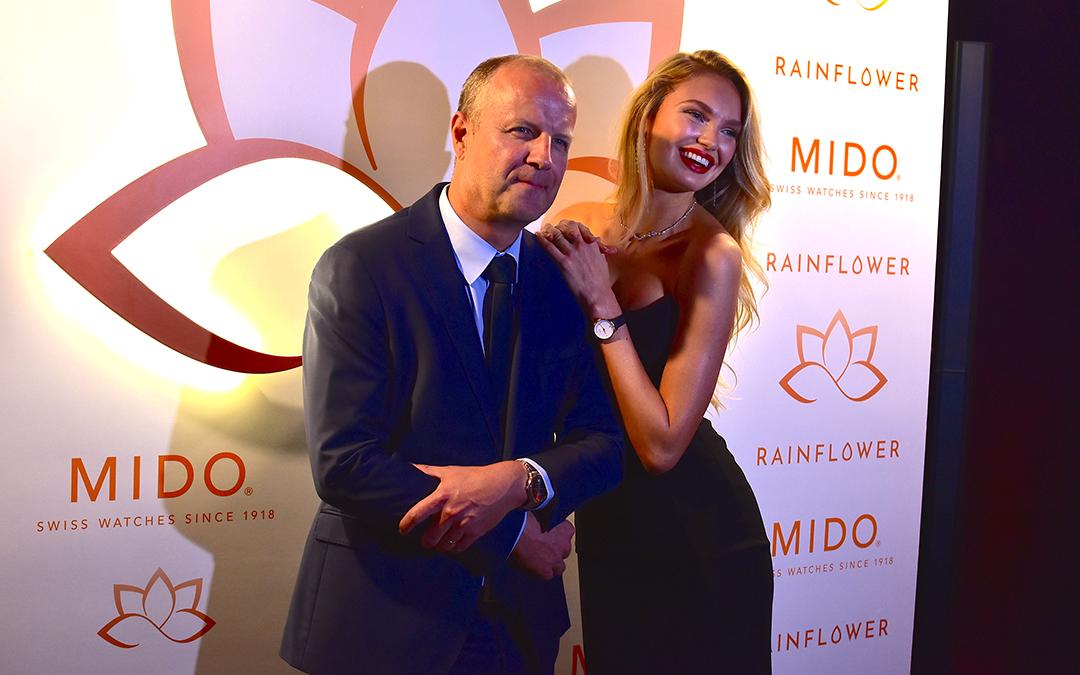Mido presentó en Singapur sus nuevos modelos para dama