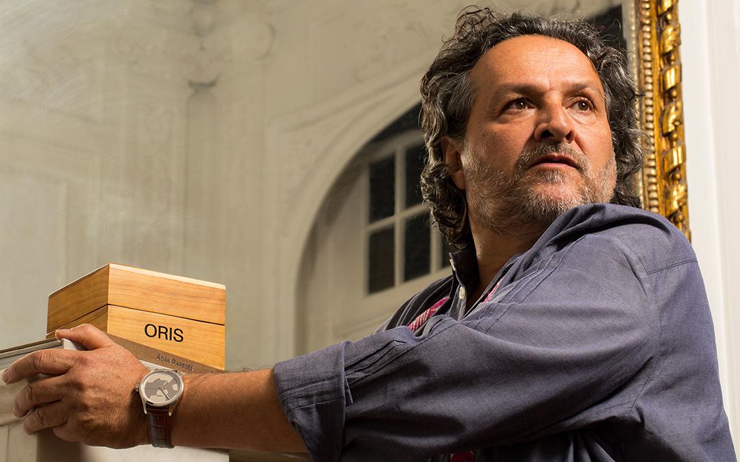 Oris colabora con el artista Adán Paredes