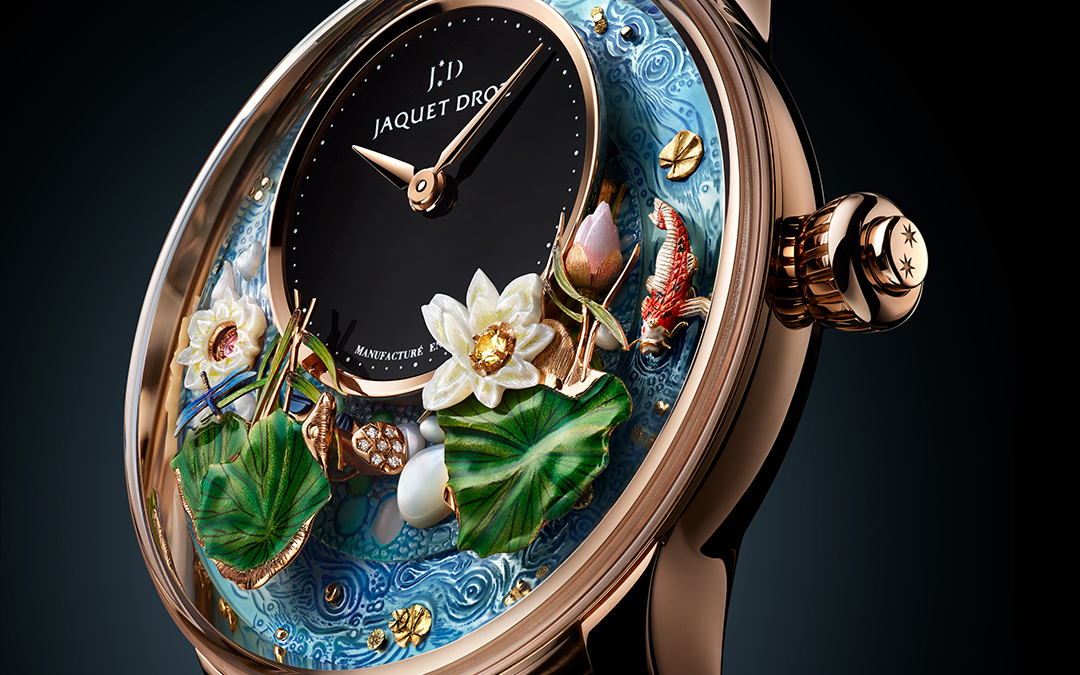Jaquet Droz introduce un nuevo autómata durante Time To Move