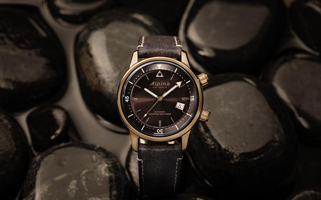 Alpina actualiza su colección Seastrong Diver Heritage