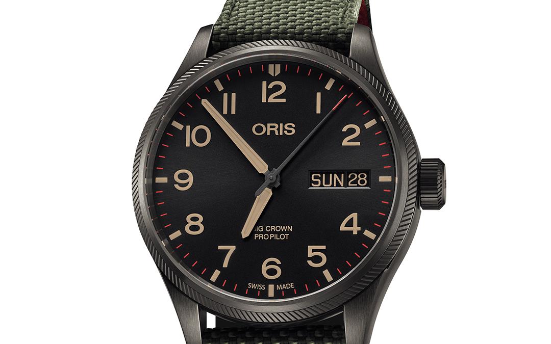 Oris presenta edición limitada en honor al Escuadrón Heli 40