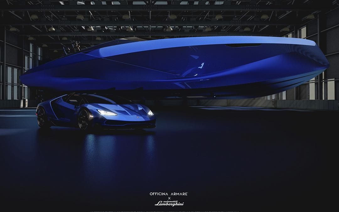 Officina Armare se inspira en Lamborghini para crear el nuevo A43