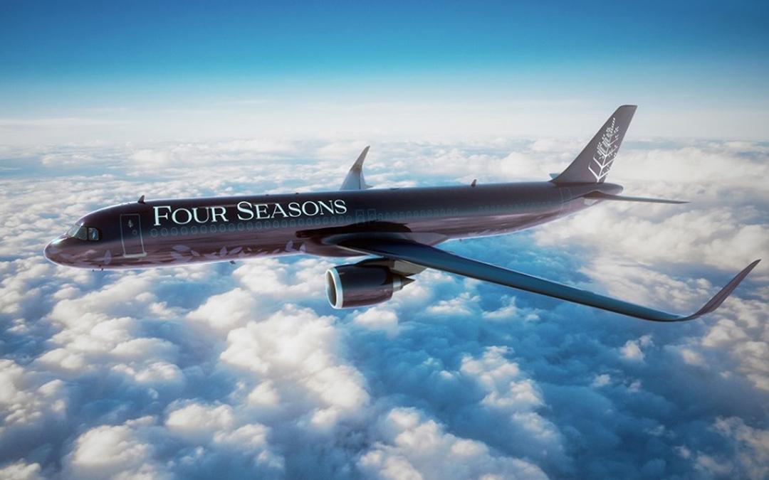 El jet privado de Four Seasons aterrizará en la Ciudad de México