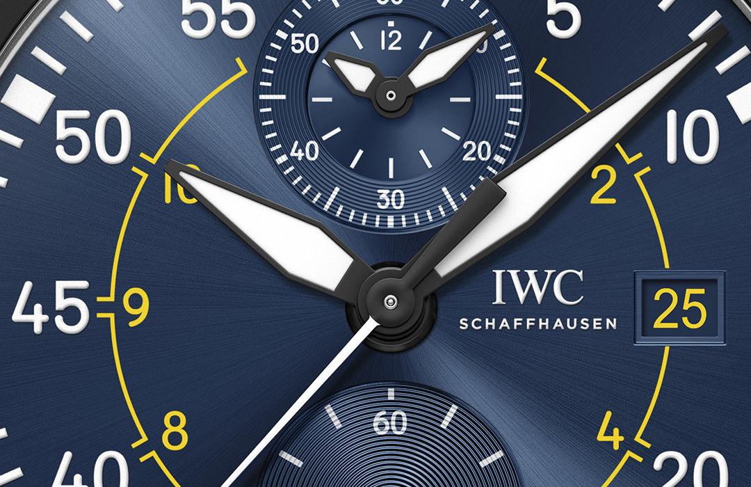 IWC dedica cronógrafo al escuadrón Blue Angels