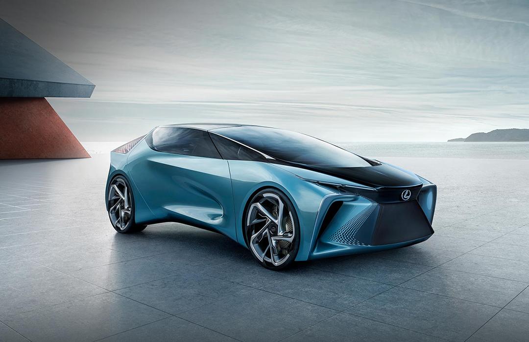 Lexus carro eléctrico en Wokii