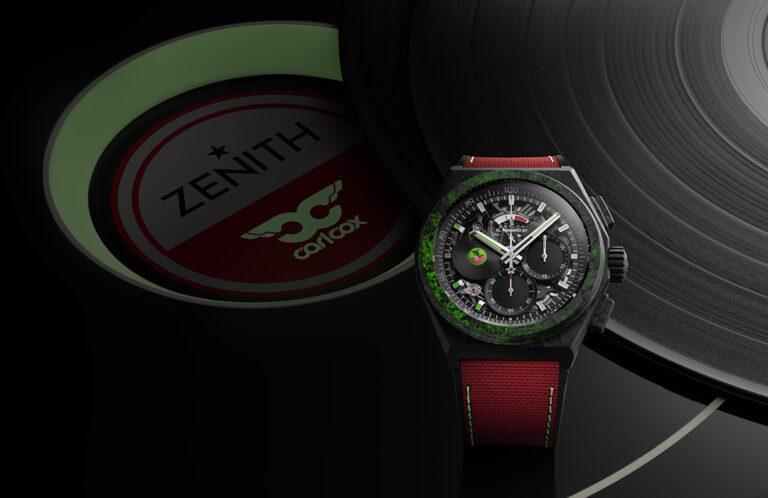 Zenith Defy 21 Carl Cox en WatchTime México