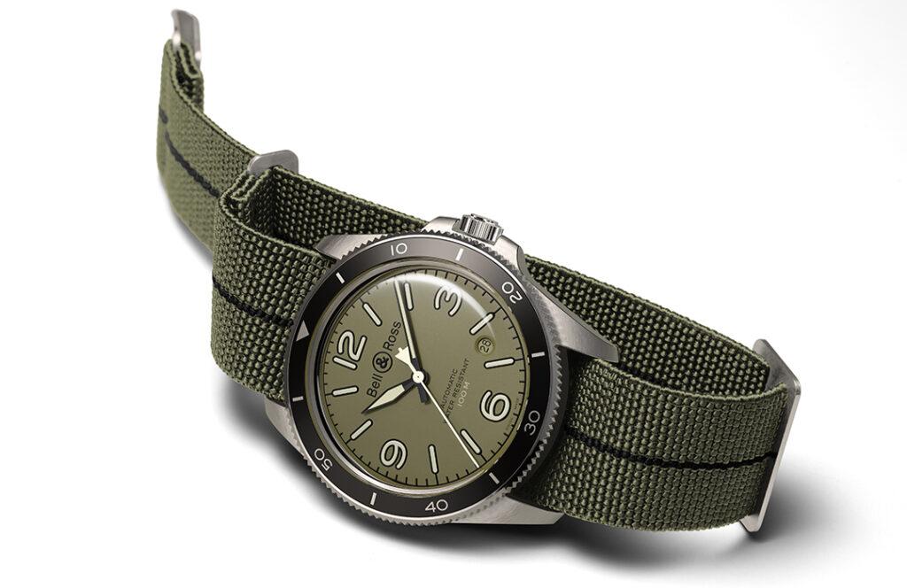Bell & Ross introduce el BR V2-92 Military Green en WatchTime México