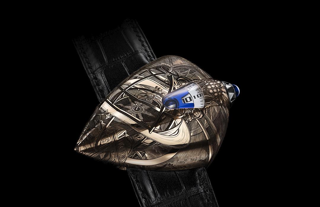 Maestri'Art DW5 Armilia: un reloj de ciencia ficción
