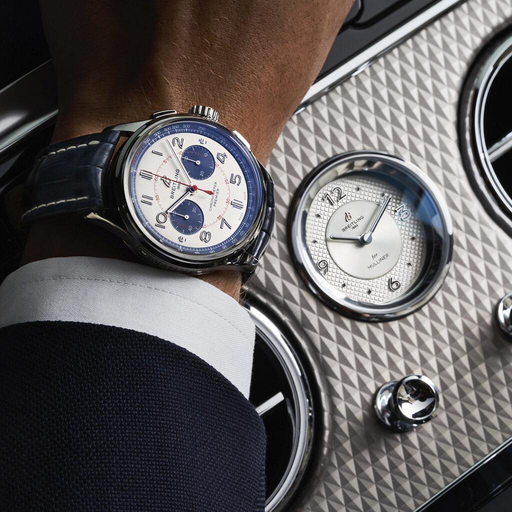 Breitling refuerza su relación estrecha con Bentley en WatchTime México