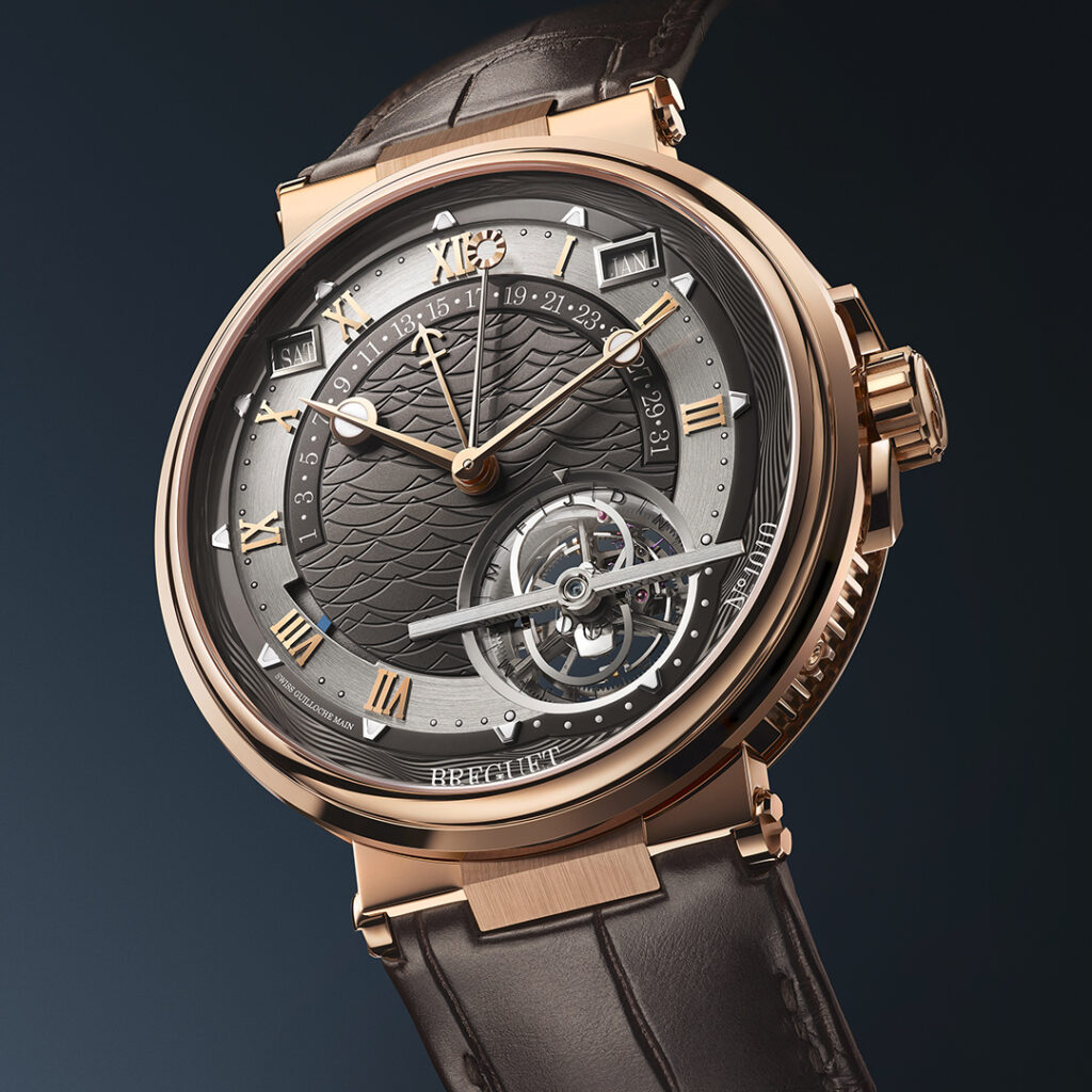 Breguet Marine Tourbillon Équation Marchante en WatchTime México