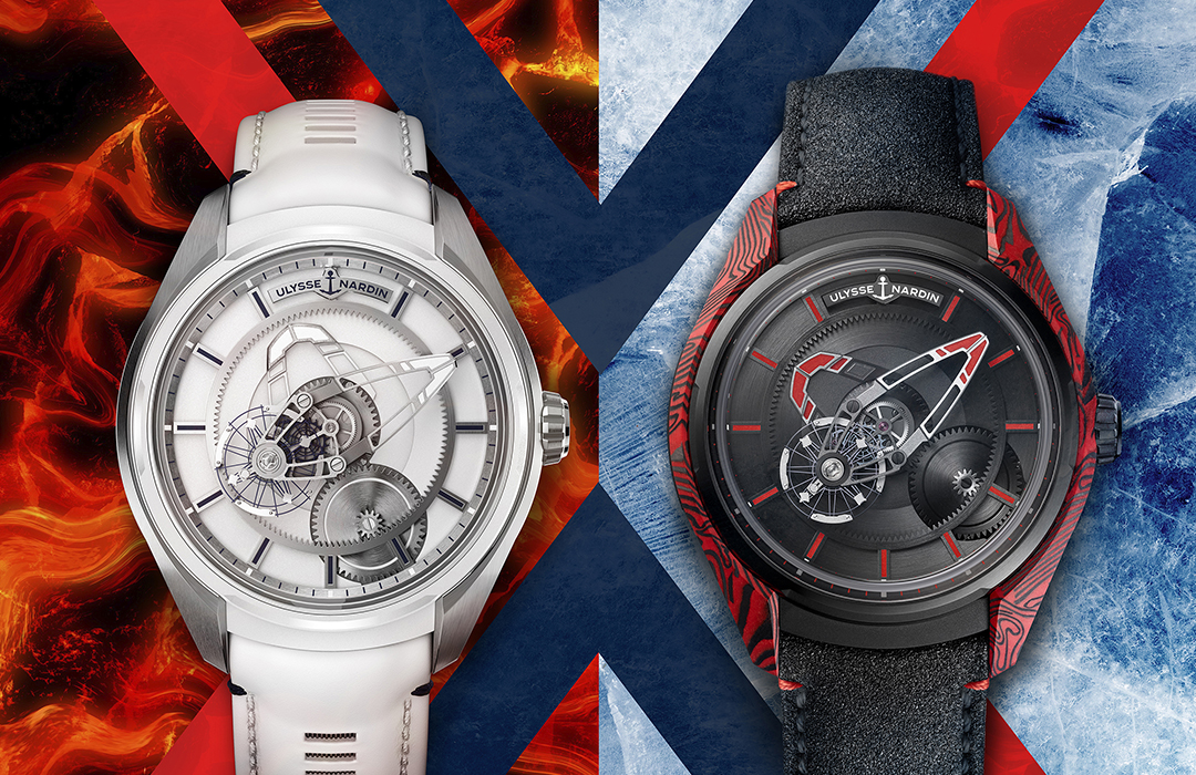 Freak X Ice y Freak X Magma de Ulysse Nardin