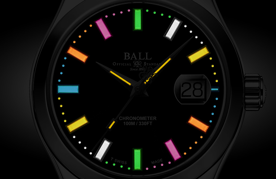 Una pieza con causa de BALL Watch