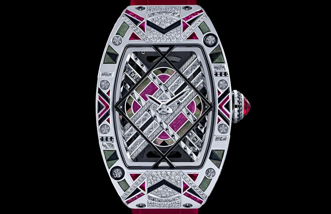 Richard Mille debuta en el universo de los relojes joya