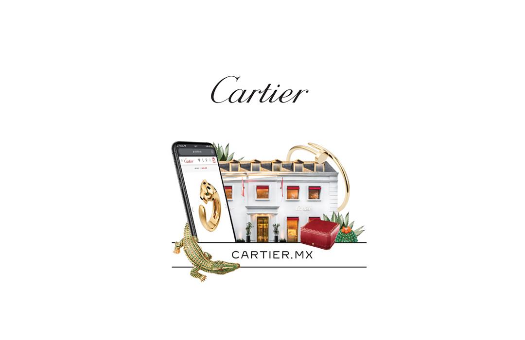 Cartier presenta una nueva boutique en línea