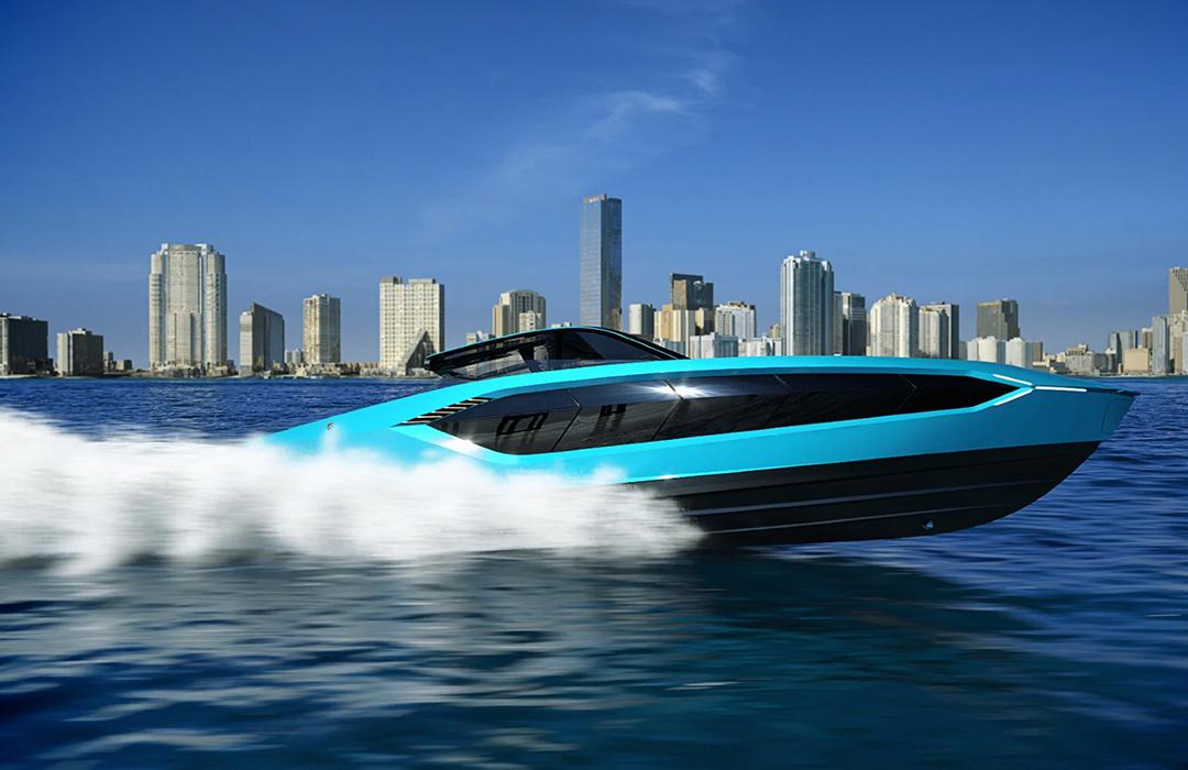 Un Lamborghini para navegar