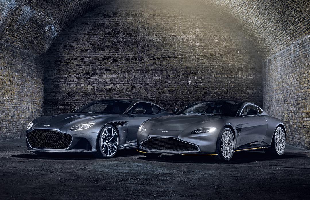 Mira los nuevos Aston Martin de James Bond