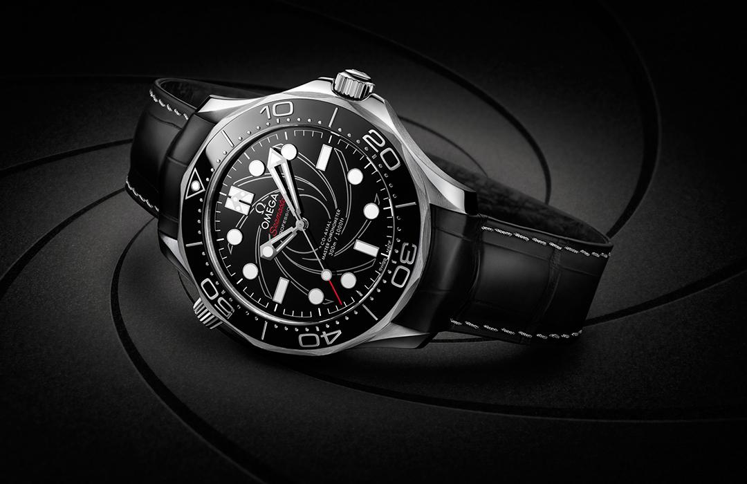 El reloj Omega de James Bond, ahora en platino y oro