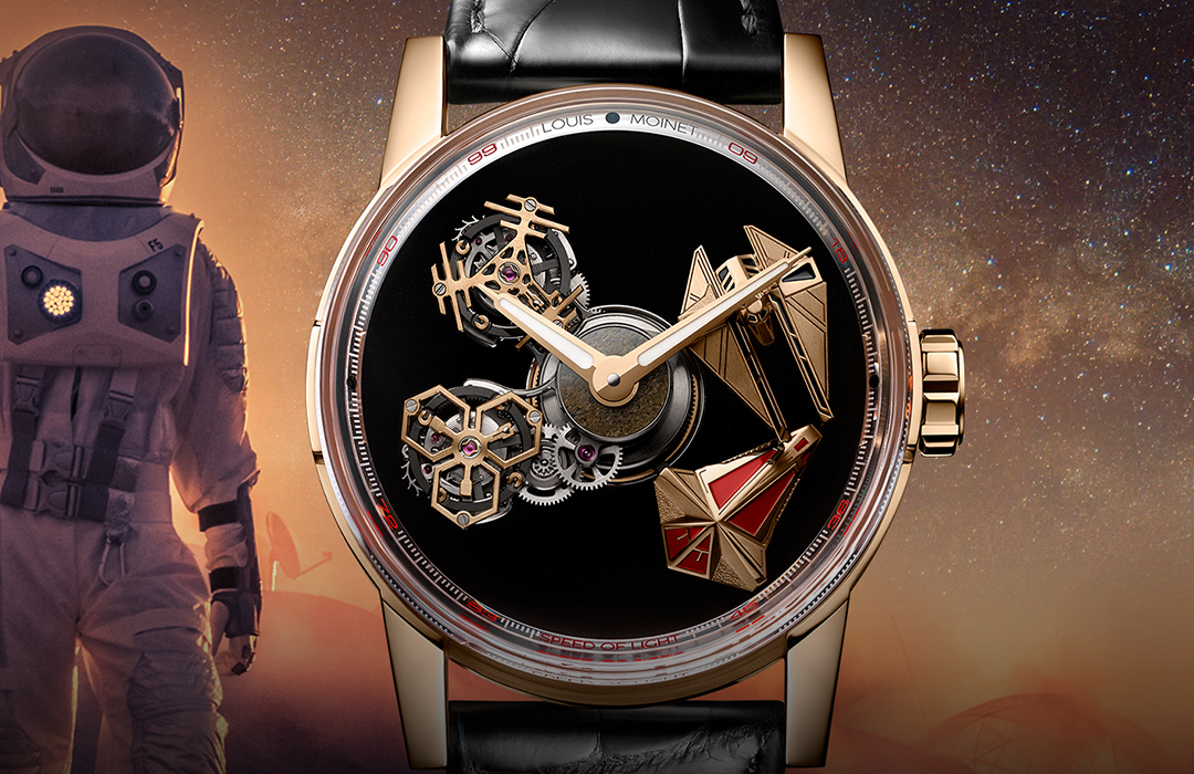 Nuevo Space Revolution de Louis Moinet