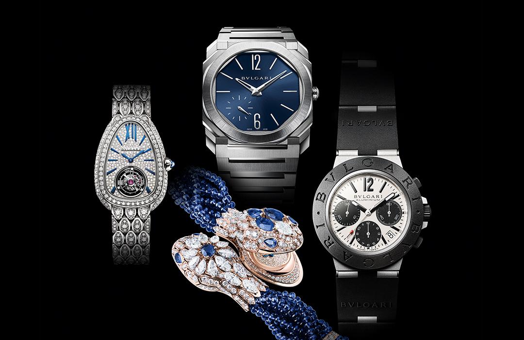 4 relojes de Bulgari nominados al Gran Premio de Relojería