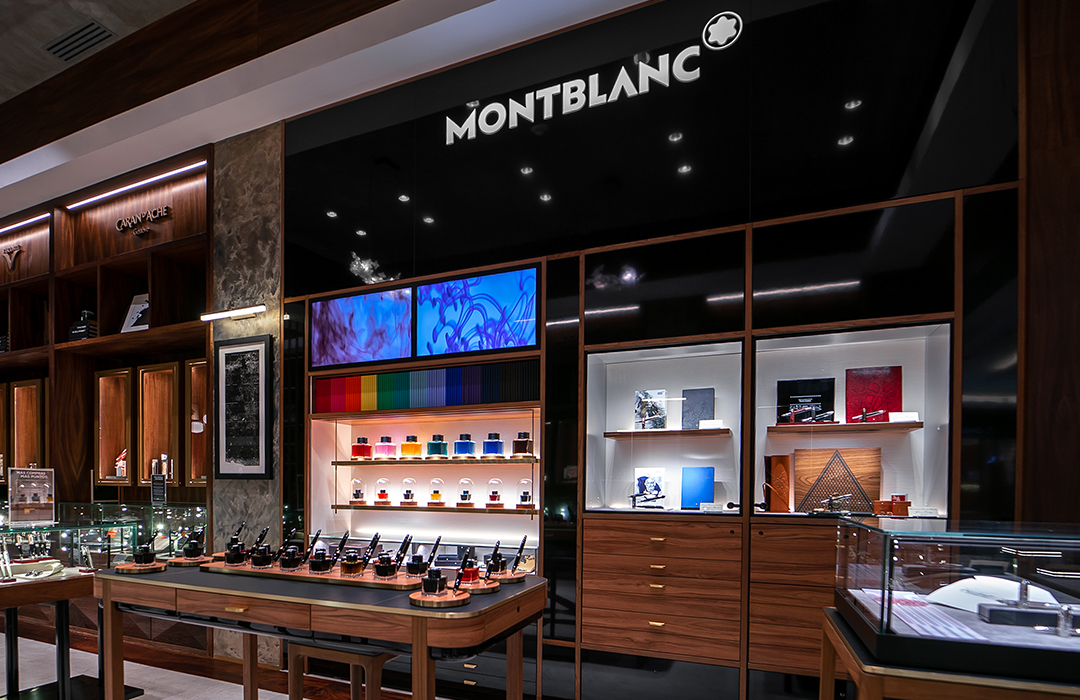 En El Palacio de Hierro, Montblanc inaugura su primer Ink Bar de Latinoamérica
