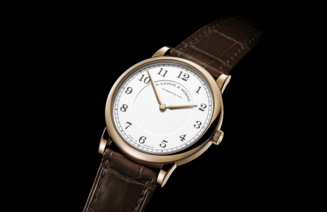 """1815 Thin Honeygold """"Homage to F. A. Lange"""""""
