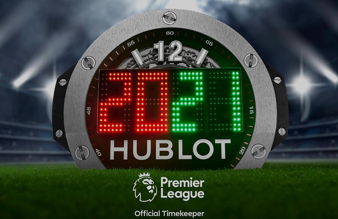 Hublot, cronometrador oficial de la Premier League