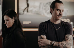 Maite Perroni y Mido en WatchTime México