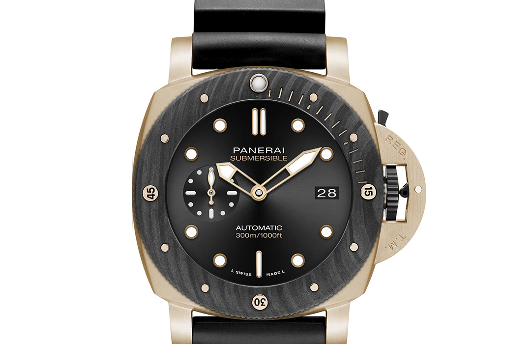 Panerai Submersible Goldtech Orocarbo – 44 mm