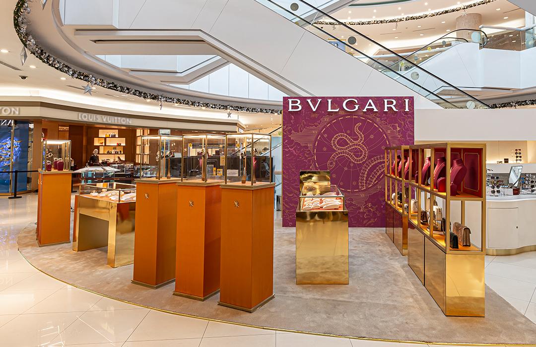 Bulgari lleva su pop up store a Guadalajara