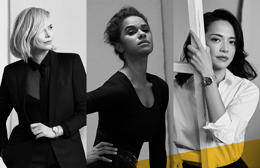 Charlize Theron, Misty Copeland y Yao Chen para Breitling