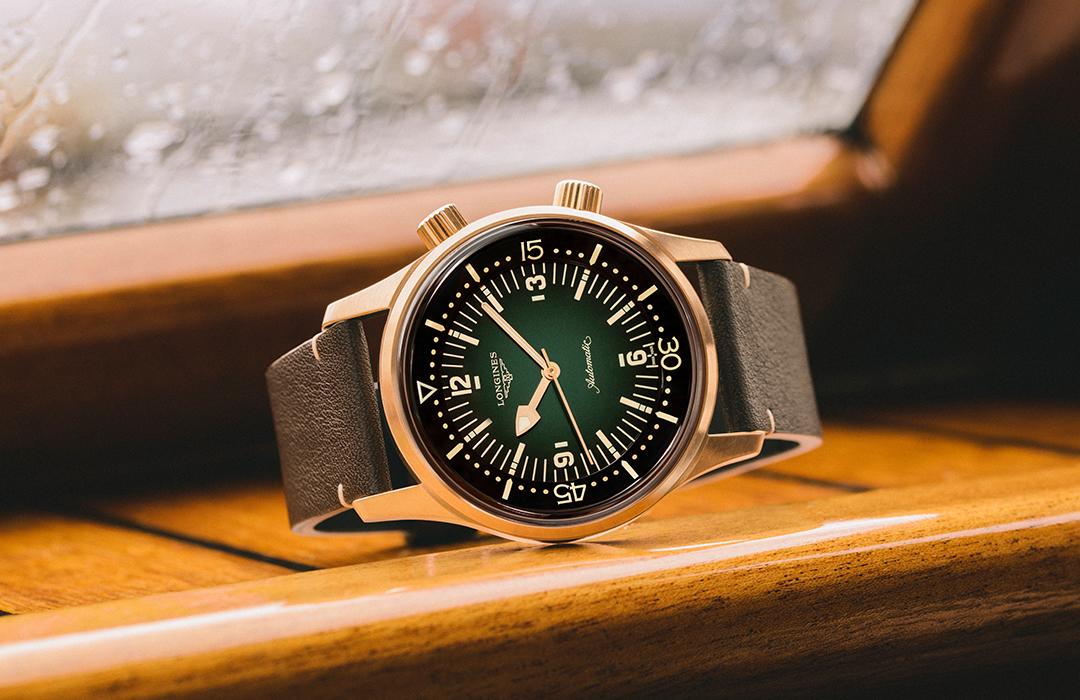Nuevo Longines Legend Diver, ahora en bronce