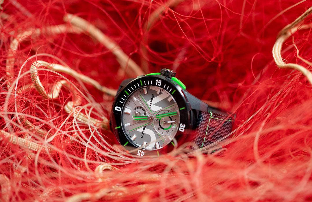 Ulysse Nardin Diver Net: el reloj que utiliza plástico recuperado del océano