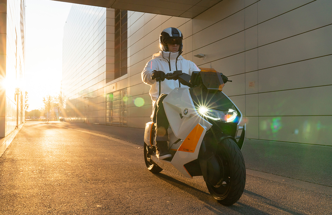 BMW presenta su nuevo scooter eléctrico