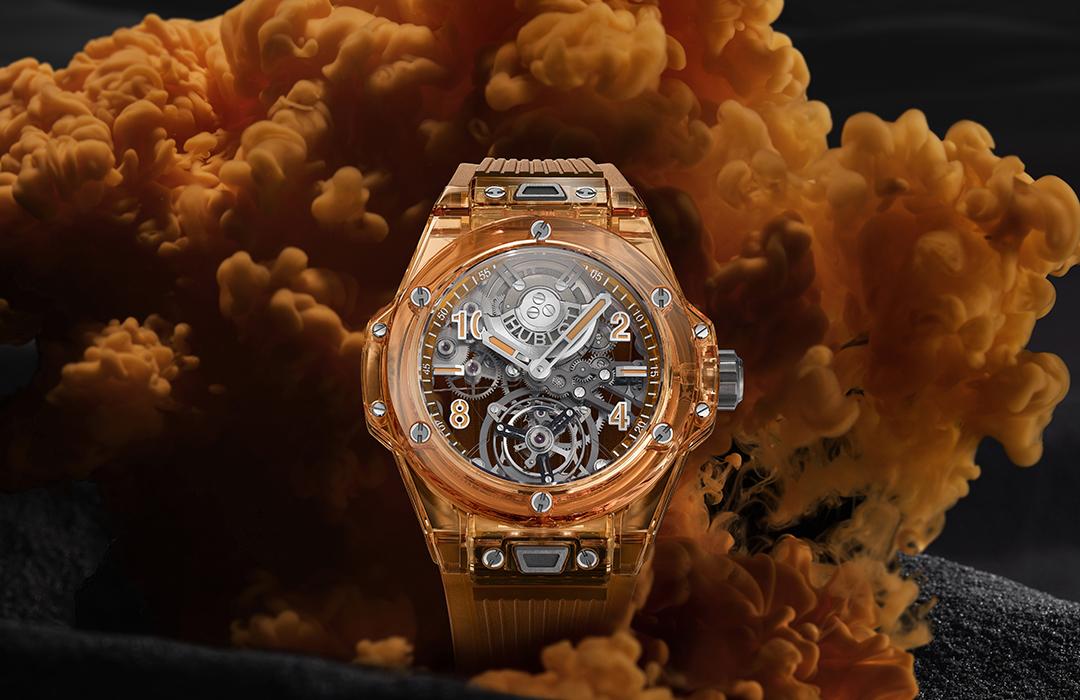Big Bang Tourbillon Automatic Orange Sapphire