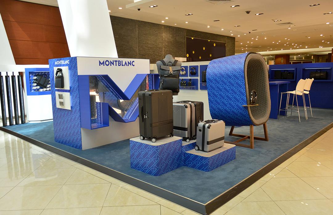 Montblanc inaugura pop-up store en Monterrey