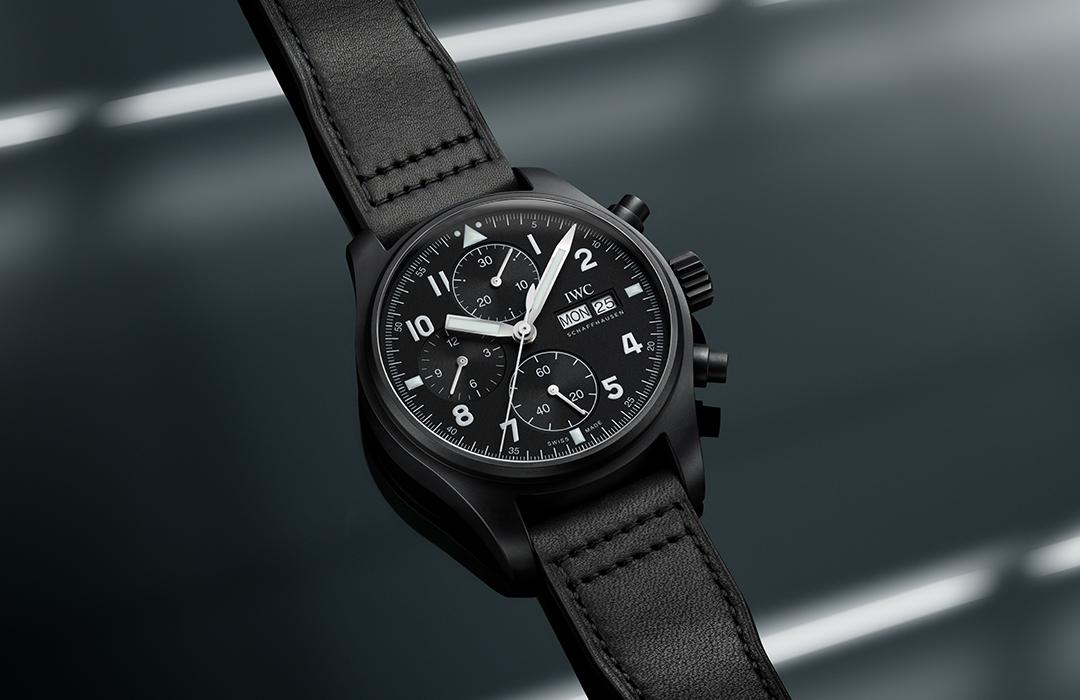 IWC rinde homenaje al reloj Black Flieger