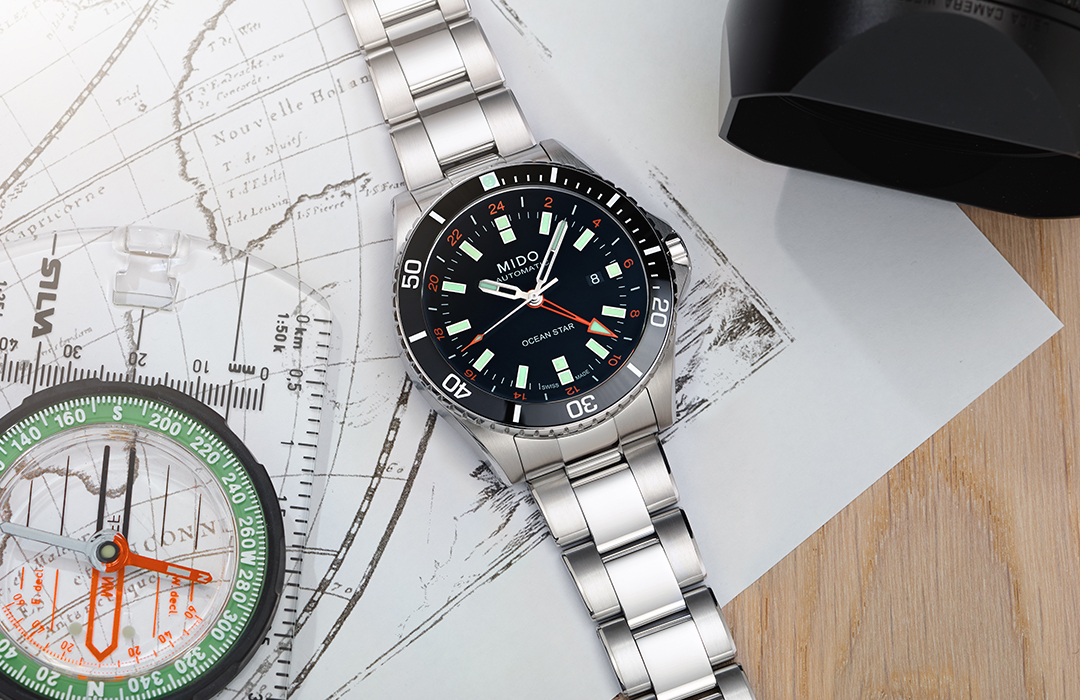 Mido Ocean Star GMT: nuevos horizontes