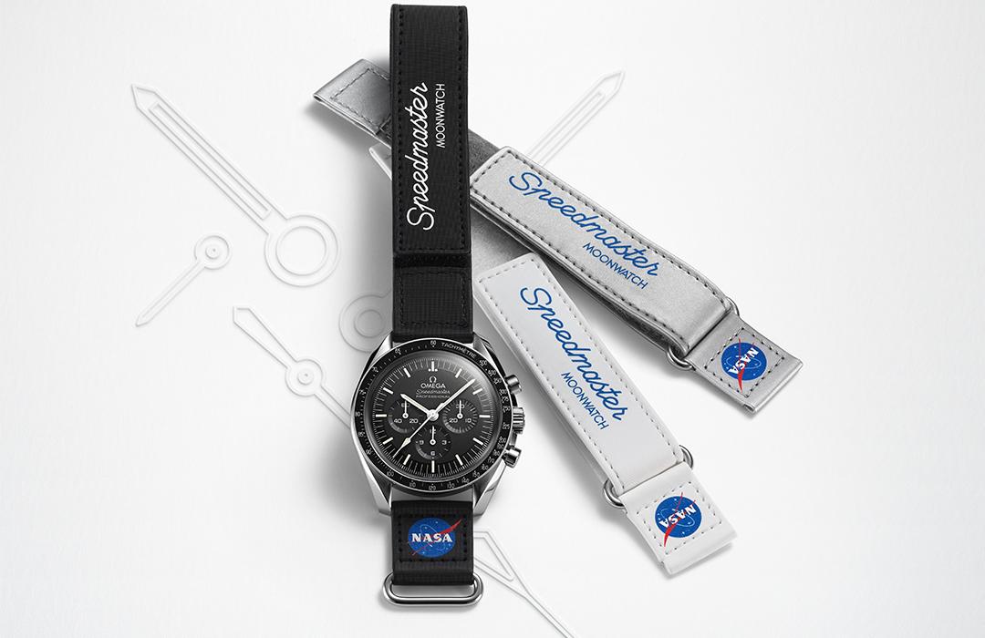 Omega lanza nuevas correas para el Speedmaster Moonwatch