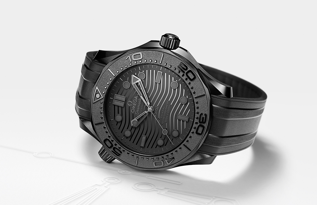 Nuevo Omega Seamaster Diver 300M Black Black