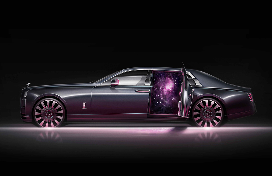 Rolls-Royce Phantom Tempus Collection: viaje sideral