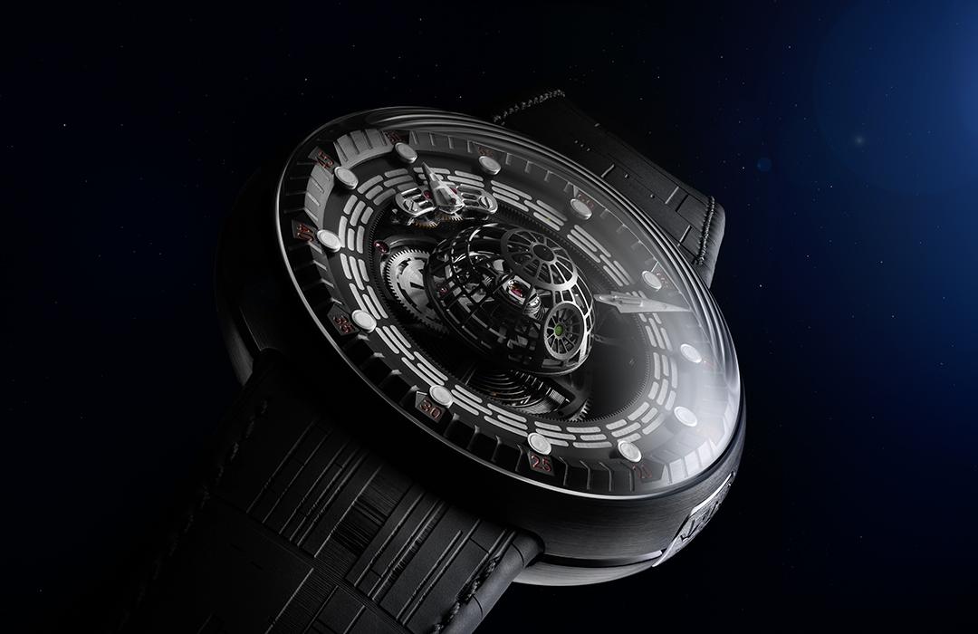 El reloj de Star Wars, una colaboración entre Kross Studio y Lucasfilm