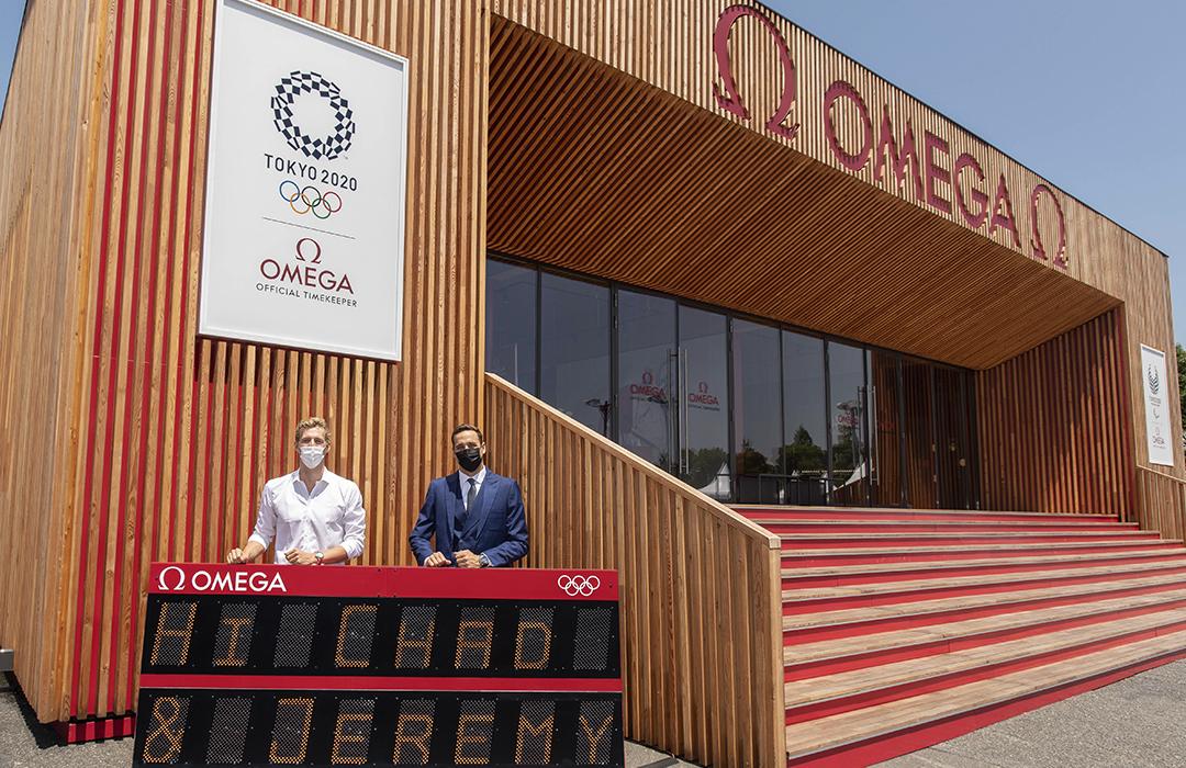 Omega y sus embajadores en Tokio 2020