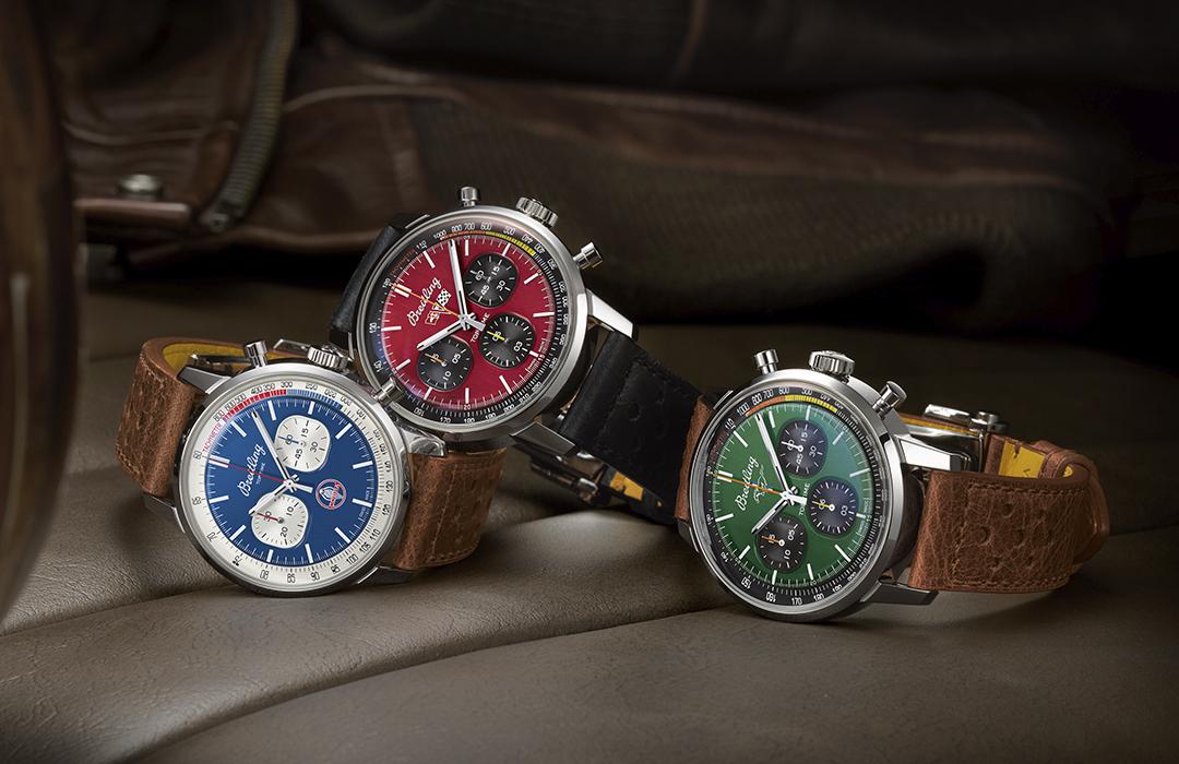 Breitling presenta la colección Top Time Classic Cars