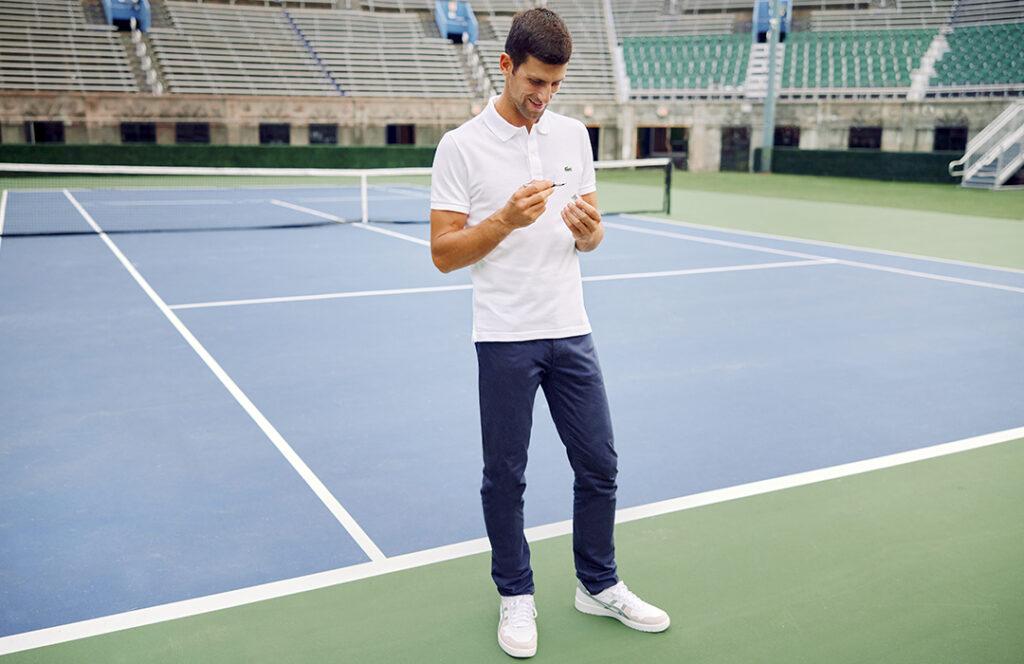 Novak Djokovic Montblanc en WatchTime México